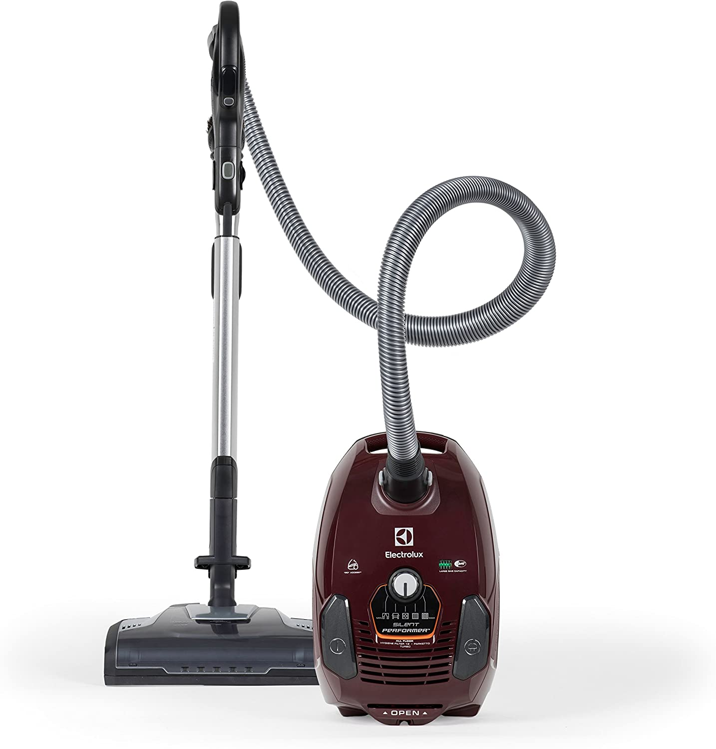 Electrolux EL4015A Silent Performer Canister, Maroon: Amazon