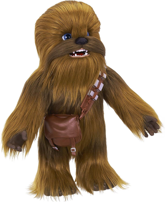 Neuf Star Wars Ultimate CO-PILOTE Chewie Chewbacca INTERACTIVE PLUSH Jouet FurReal
