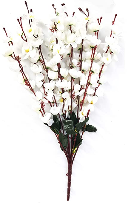 Buy Mimob Home Decor Artificial Flowers Realistic Natural Look Faux