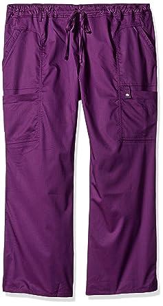 1350030e603 Cherokee Women s Petite-Plus-Size Jr. Fit Low-Rise Drawstring Cargo Pant
