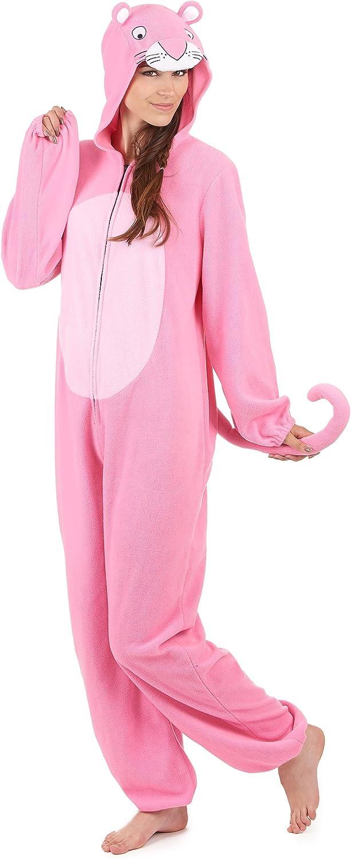 Traje con capucha pantera rosa mujer Única: Amazon.es: Juguetes y ...