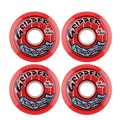Labeda Wheels Roller Hockey Gripper 76mm X-Soft 4pk : Sports & Outdoors