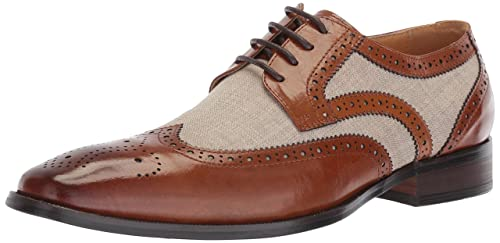 0b976e0313b STACY ADAMS Men's Kemper Wingtip Lace-up Oxford