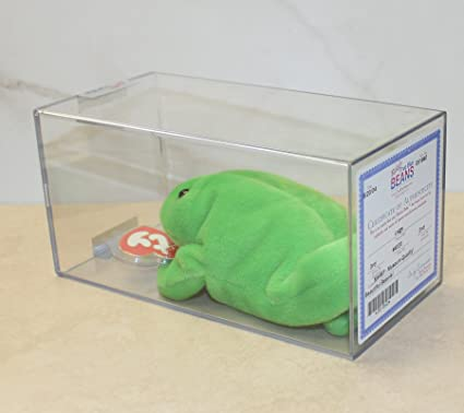 8a444768eb7 Image Unavailable. Image not available for. Color  Ty Beanie Baby  Authenticated Legs (Frog)