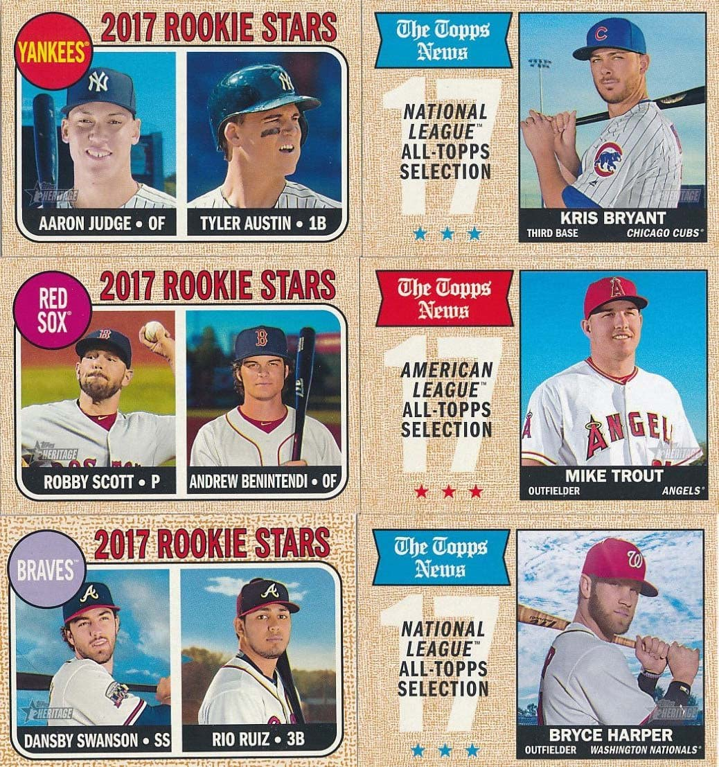 2019 Topps Heritage Minors CHICAGO CUBS 4 Card Team Set