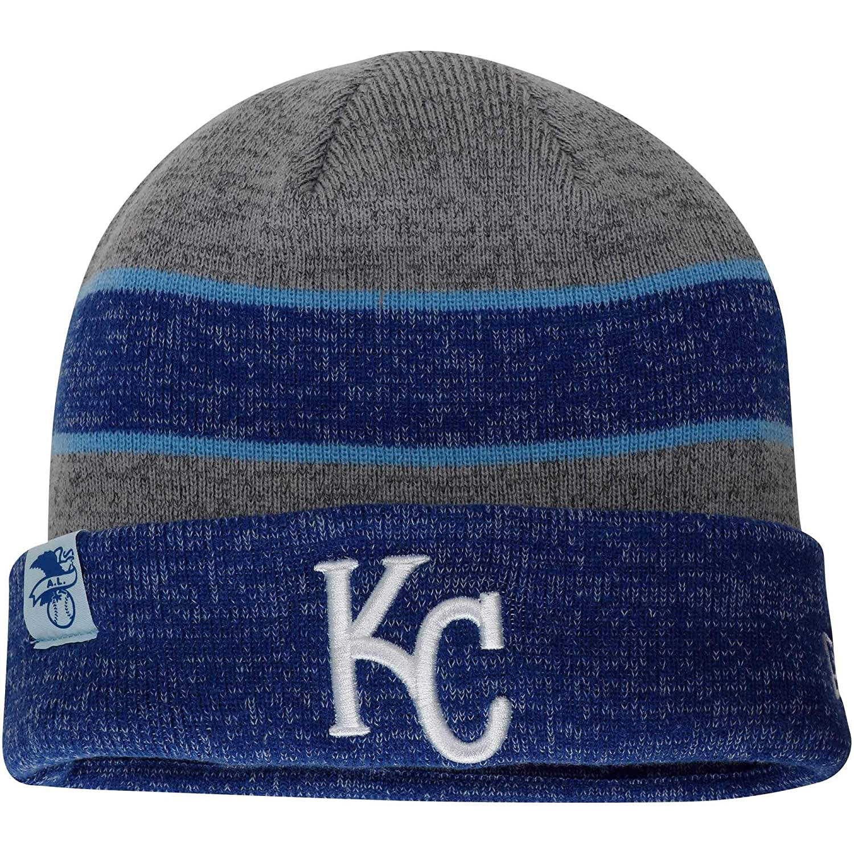19bd2393 Amazon.com : New Era Kansas City Royals Heathered Gray Heathered ...