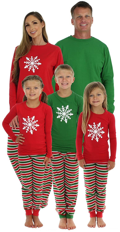 SleepytimePjs Christmas Stripe Family Matching Pajama Set at Amazon ...