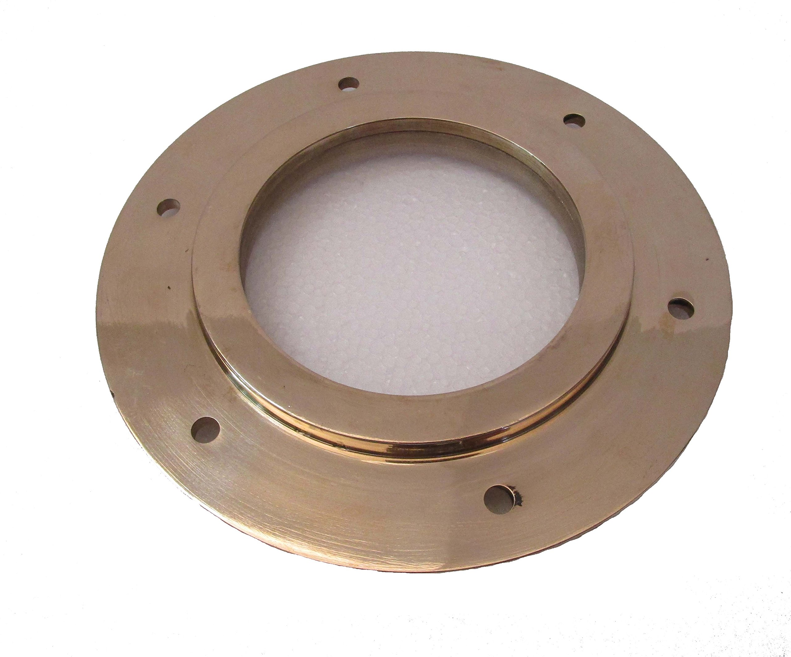 Brass Blessing Marine BRASS Port Hole/Window/Porthole – 7 Inches Outer Nautical/Boat/Maritime (5217)