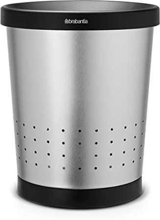 Papierkorb Conical 5 L Brilliant Steel