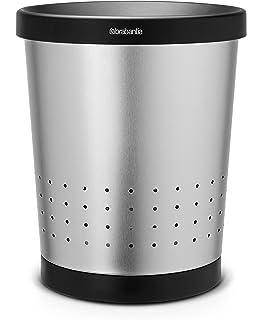 Brabantia Touch Bin Mat Rvs.Brabantia Large Laundry Bin With Black Plastic Lid 60 L