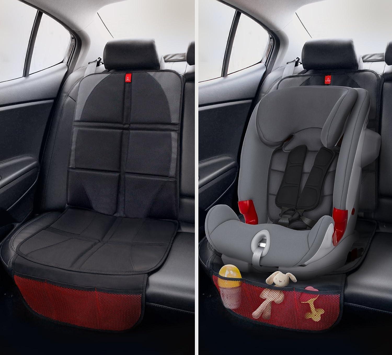 Strapazierbarer Fleckenschutz ROYAL RASCALS Autositzschutz F/ächeraufteilung Besch/ützt die Polster mit gepolsterter Auflage PREMIUM PRODUKT Universalgr/ö/ße Isofix
