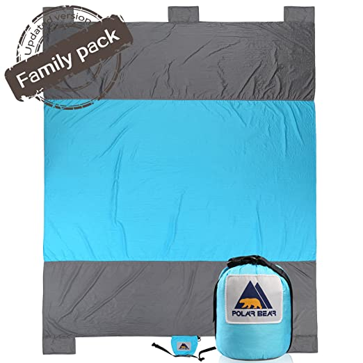 3518212424 Compact Large Quick Drying Lightweight Durable Parachute Nylon Outdoor  Beach Blanket Picnic Blanket Sand Resistant Oversized