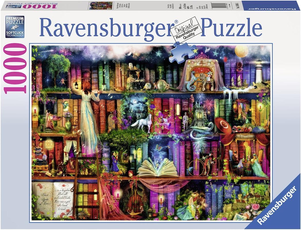 N/éant Puzzle 1000 pi/èces Contes Magiques Aimee Stewart Adulte 4005556196845 Ravensburger