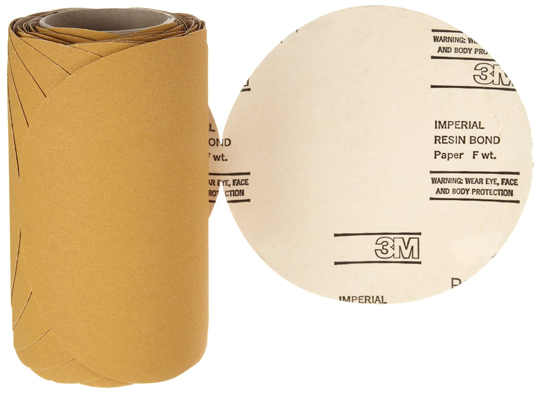 Aluminum Oxide Roll of 50 8 Diameter 8 Diameter PSA Attachment 3M Stikit Paper Disc Roll 363I P120 Grit