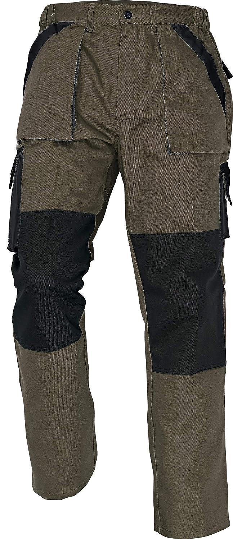 Stenso Max - Pantalon de Travail/Cargo en Coton pour Homme