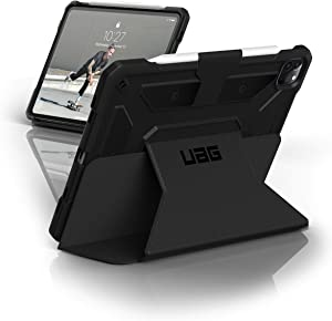 URBAN ARMOR GEAR UAG iPad Pro 11-inch (2nd Gen, 2020) Case Metropolis [Black] Folio Slim Heavy-Duty Tough Multi-Viewing Angles Stand Military Drop Tested Rugged Protective Cover