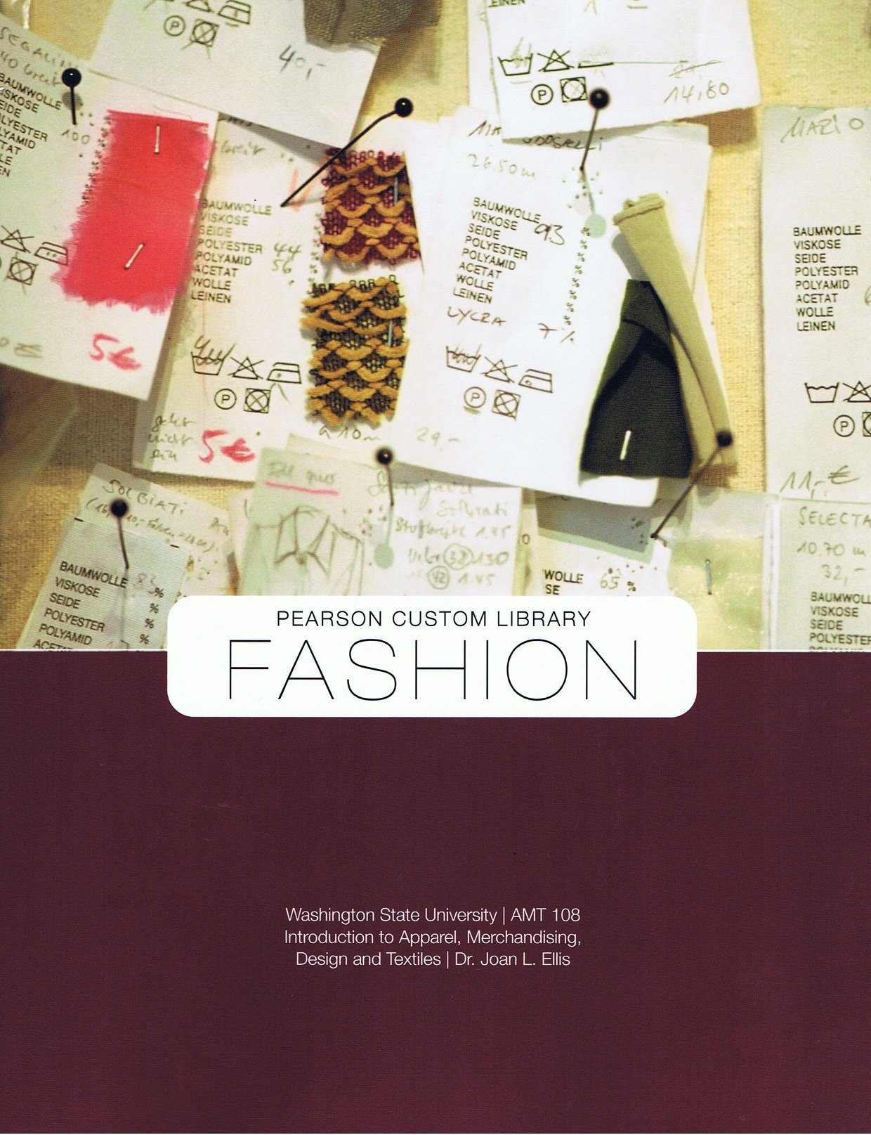 Fashion Introduction To Apparel Merchandising Design And Textiles Dr Joan L Ellis 9781256565413 Amazon Com Books