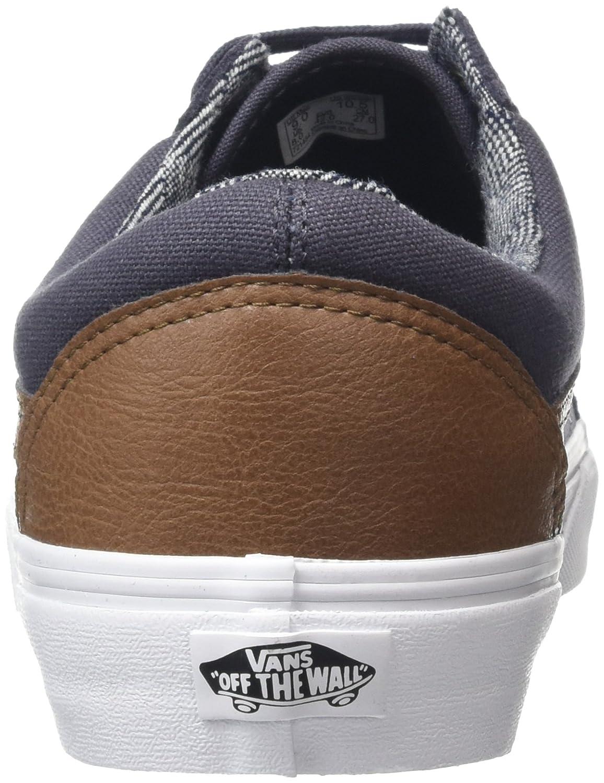 03822a4f52849 Vans Unisex Old Skool Zapatillas clásicas de skate C y L Periscope True  White