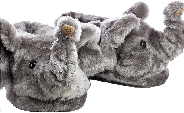 Sleeper Z Elefante Zapatillas De Casa Animales Originales Y Divertidas Adultos Y Niños Hombre Y Mujer 39 41 L Amazon Es Zapatos Y Complementos
