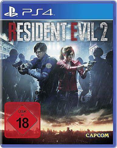 Resident Evil 2 - 100% UNCUT [PlayStation 4 ] [Importación alemana ...
