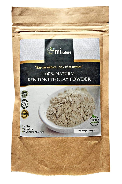 Arcilla en polvo Fullers Earth-Bentonite 100% natural - grado de exportación sin aditivos 100 g compra 2 ahorra un 20%: Amazon.es: Belleza