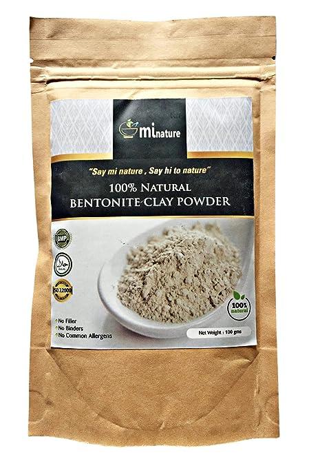 Arcilla en polvo Fullers Earth-Bentonite 100% natural – grado de exportación sin aditivos
