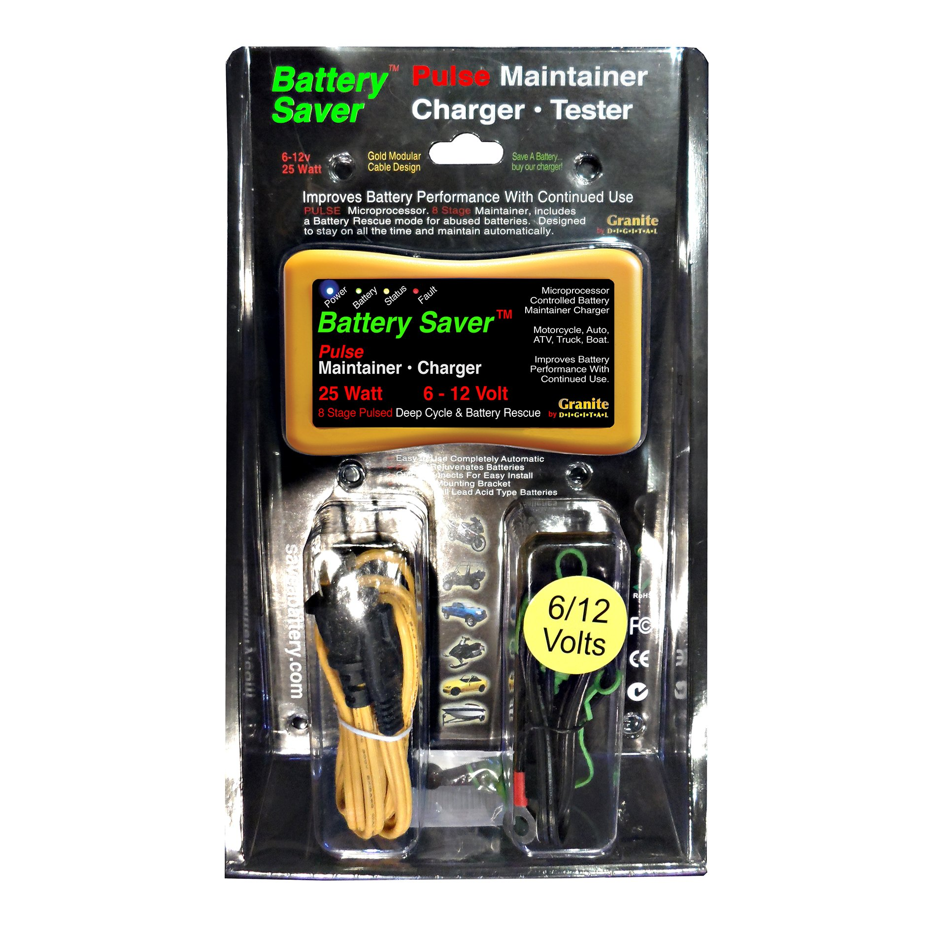 Save A Battery 3015 12 Volt/25 Watt Battery Saver/Maintainer and Battery Rescue by Battery Saver (Image #3)