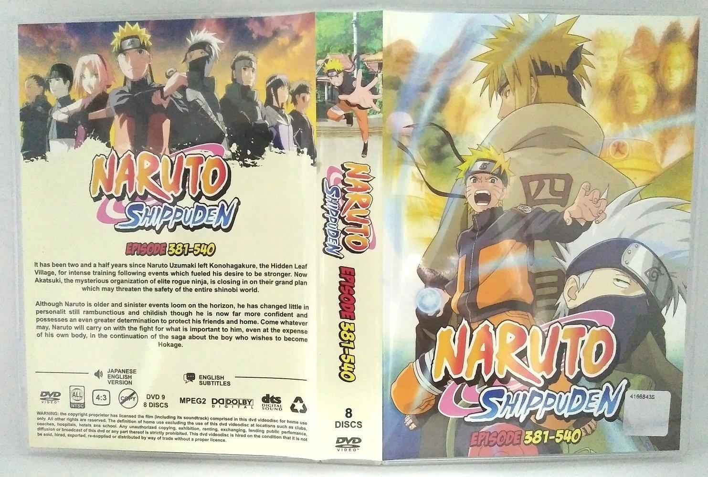 NARUTO (Audio Inglés) - Juego completo de cajas de DVD para ...