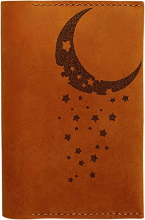 Deer Abstract Portrait Handmade Genuine Leather Passport Holder Case HLT/_01