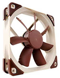 Noctua NF-S12A FLX, Premium Quiet Fan, 3-Pin (120mm, Brown)