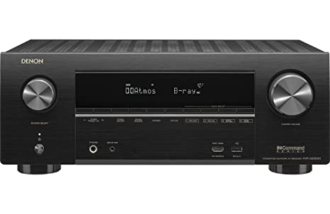 Denon AVR-X2500H Receiver - HDR10, 3D video support | 7 2 Channel (95W per  channel) 4K Ultra HD Video | Home Theater Dolby Surround Sound |