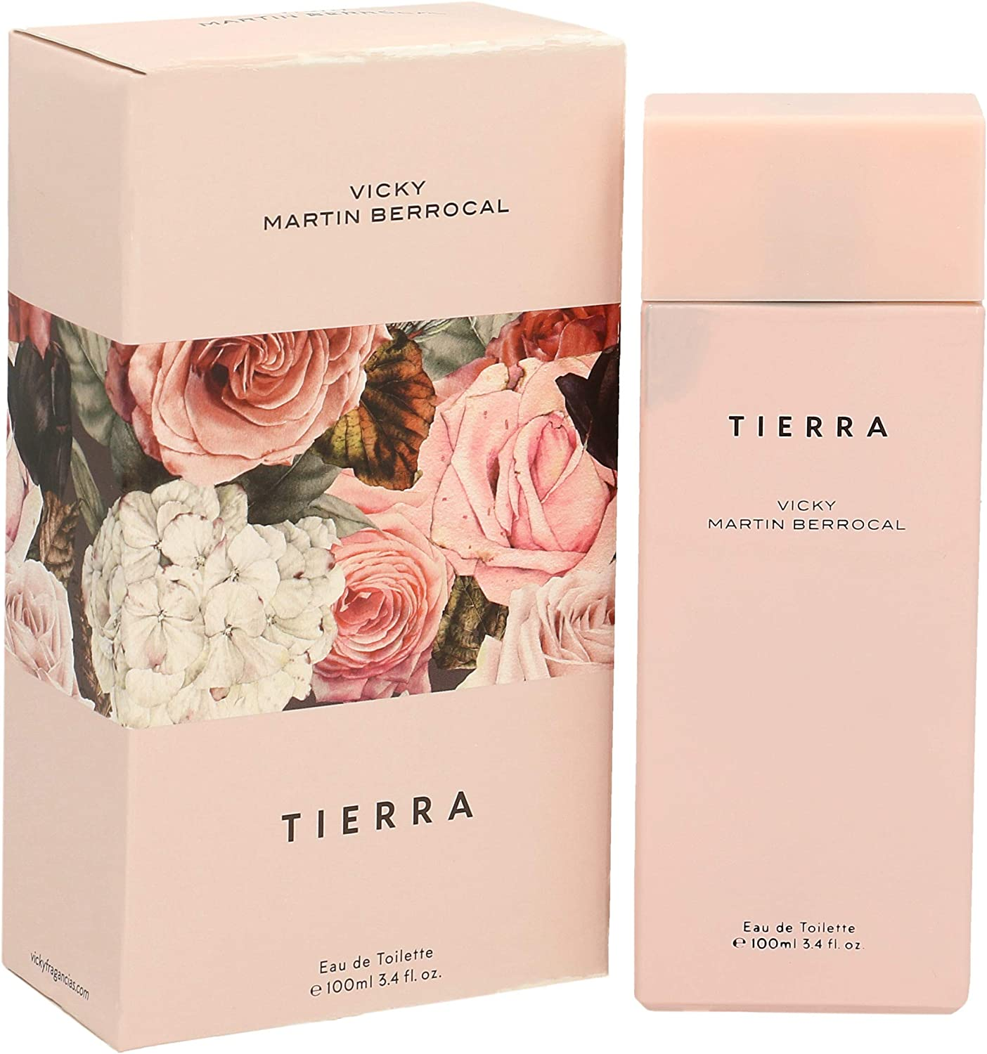 VICKY MARTIN BERROCAL colonia tierra spray 100 ml: Amazon.es: Belleza
