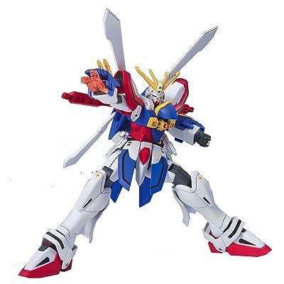 """Bandai Hobby HGFC 1/144 #110 G GUNDAM """"Mobile Fighter G Gundam"""" Model Kit: Toys & Games"""