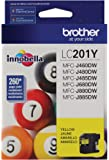 Brother LC201Y Standard Yield Yellow Ink Cartridge