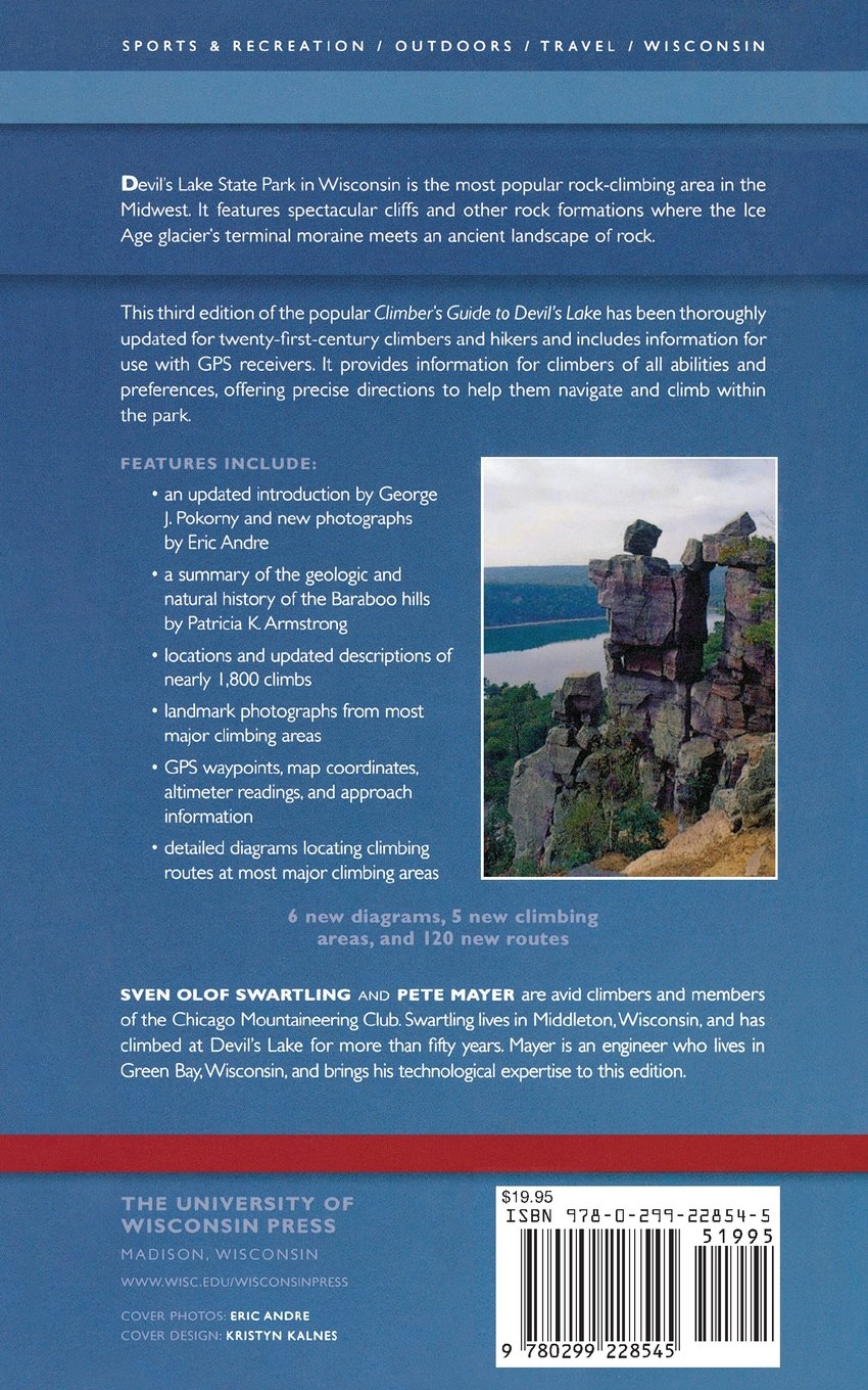 Climber\'s Guide to Devil\'s Lake: Sven Olof Swartling, Pete Mayer ...