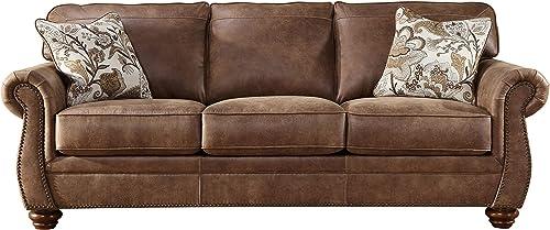 Acanva Luxury Contemporary Leathaire Leather Sofa