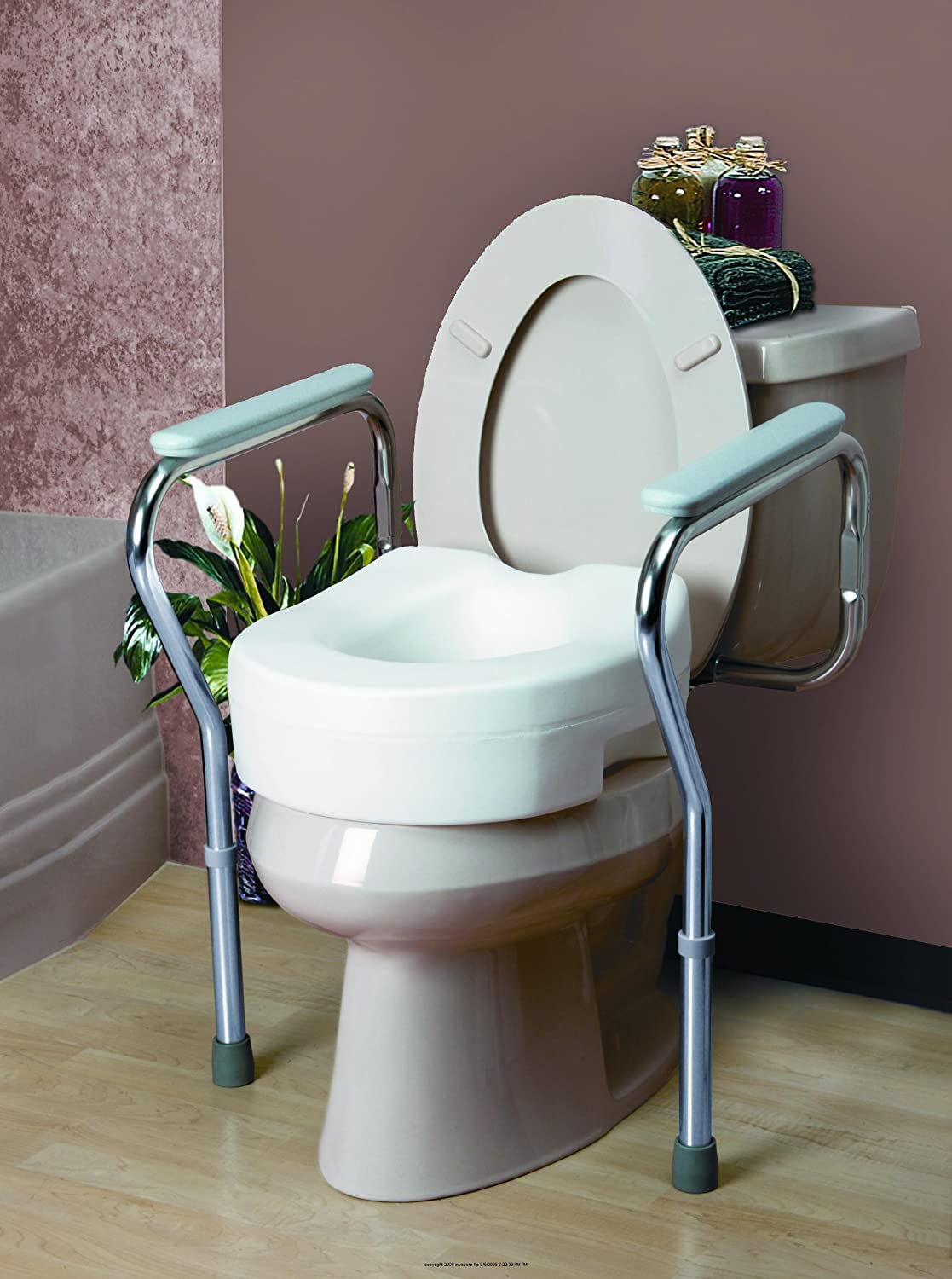 Miraculous Amazon Com Invacare Adjustable Toilet Safety Frame Ib Pabps2019 Chair Design Images Pabps2019Com