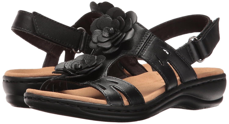 Frauen Flache Sandalen schwarz schwarz Sandalen Leder a5c1d3
