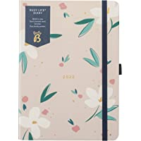 Busy B Busy Life pamiętnik od stycznia do grudnia 2022 r. - A5 planer z widokiem w kwiaty z dwoma harmonogramami…