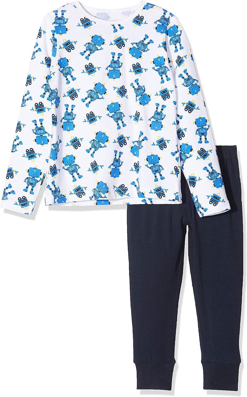 NAME IT Baby-Jungen 13177817 Zweiteiliger Schlafanzug Dark SapphireDark Sapphire Mehrfarbig 86 Herstellergr/ö/ße: 86-92