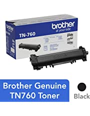 Brother Genuine TN760 Black High Yield Toner Cartridge