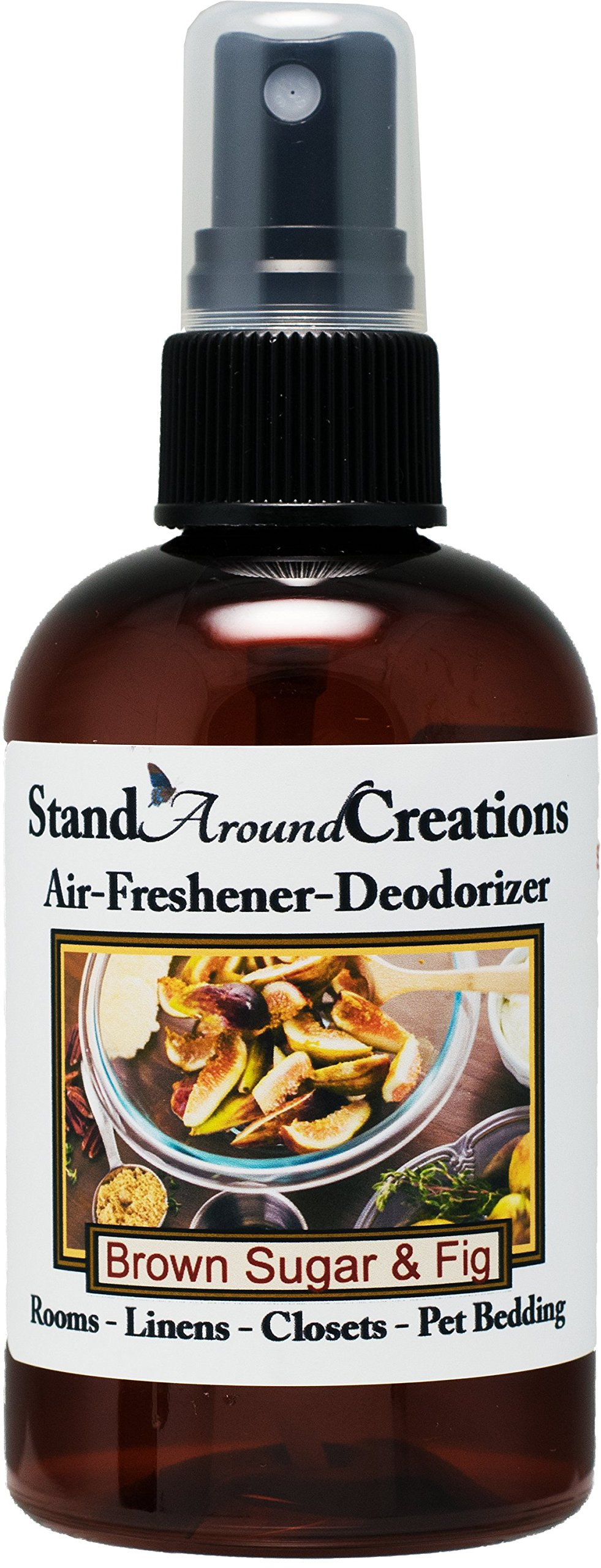 Concentrated Spray For Room / Linen / Room Deodorizer / Air Freshener - 4 fl oz - Scent - Brown Sugar And Fig: It's a great all season addition with notes of fig, caramelized brown sugar and musk.