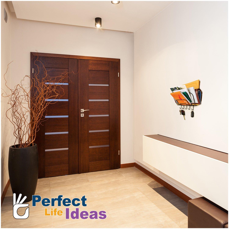 Amazon Perfect Life Ideas Key Holder Mail Rack Wall Mount