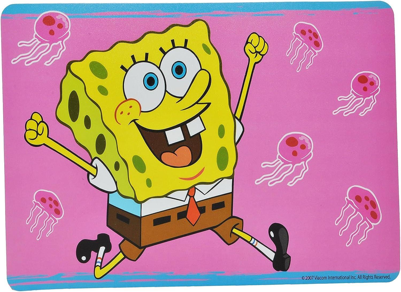 43 cm * 29 cm incl Spongebob Schwammkopf Namen Unterlage Tischunterlage // Platzdeckchen // Malunterlage // Knetunterlage // E/ßunterlage Bugs Bunny Taz T..