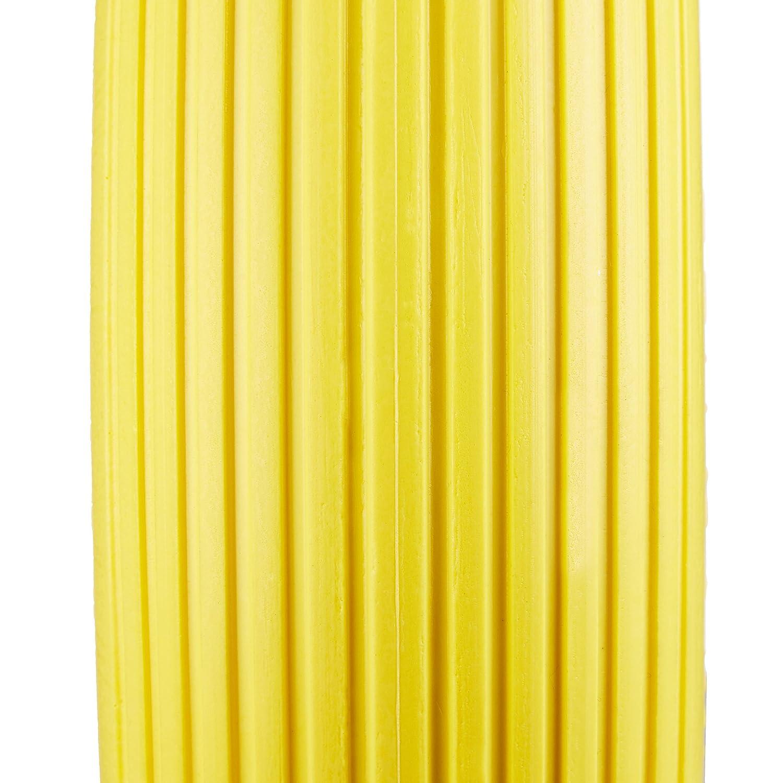 Antipanne Carico max 100 kg Relaxdays 10022852/_48 Ruota per Carriola Gomma Piena con Asse 4.80 4.00-8 di Ricambio Giallo Rosso