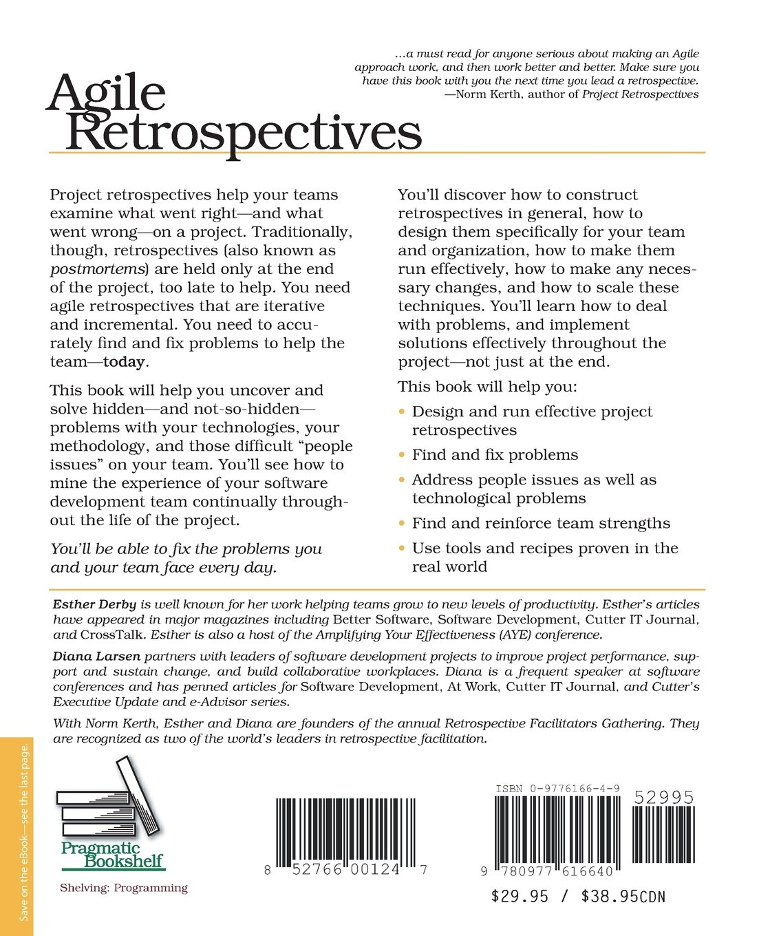 Agile Retrospectives Ebook