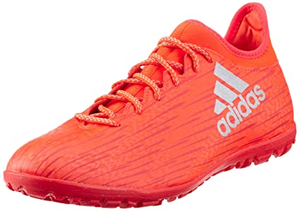 sports shoes 90ad9 b2786 adidas Performance Mens X 16.3 TF Astro Turf Soccer Trainers - Red