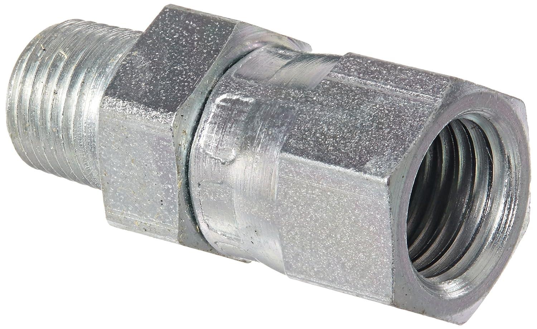 x 3//8 NPT 3//8 Tube OD 3//8 Female Pipe Size 3//8 JIC Carbon Steel f JIC 37/° /& NPT End Types Eaton Aeroquip 2242-6-6S Female 37 Degree JIC Swivel to Female Pipe End Size f