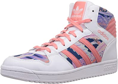 adidas originals Pro Play 2 Junior Trainers White Pink