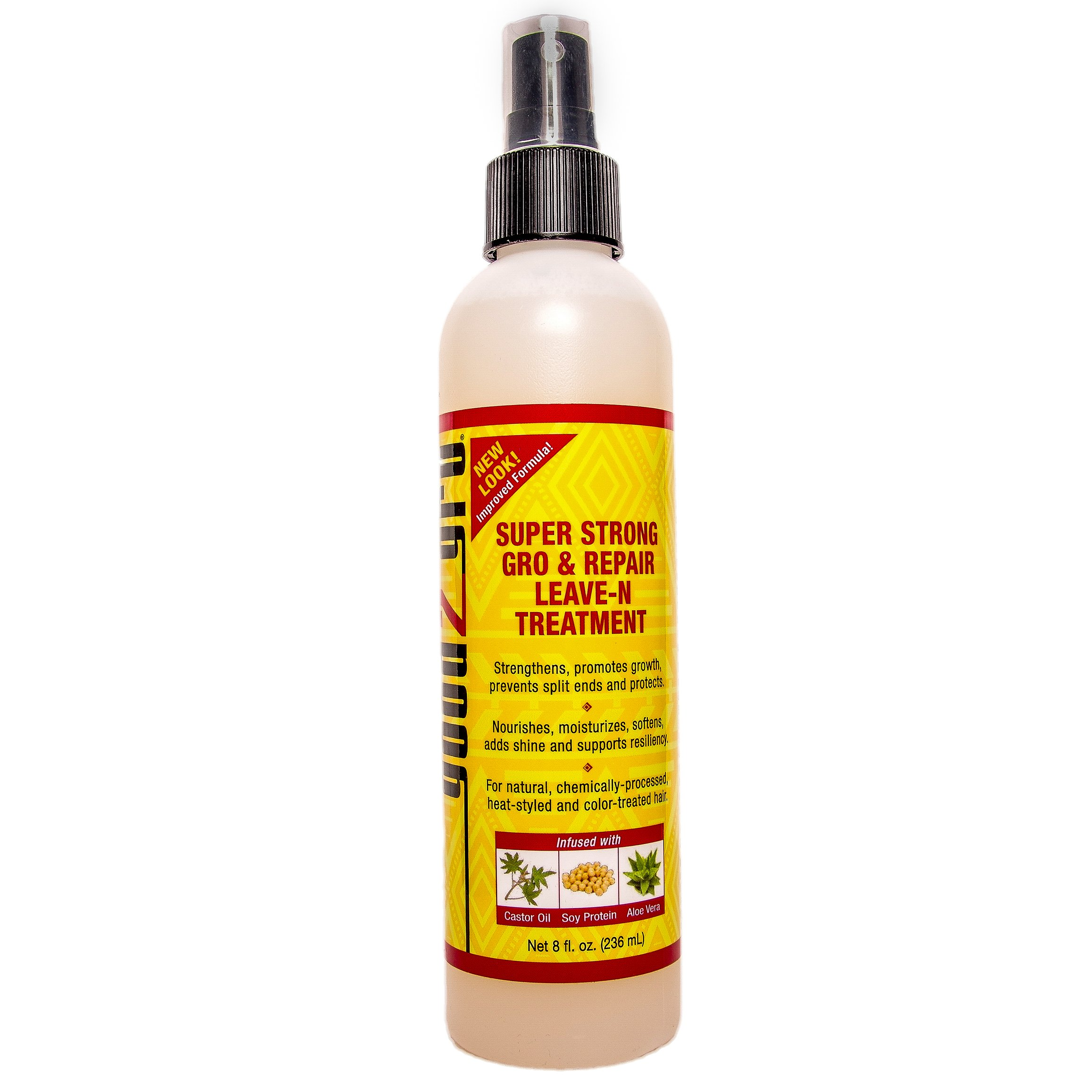 Good2Gro Super Strong Gro & Repair Leave-N Treatment Natural and Organic Ingredients - Moisturizes and Hydrates Three Times Better Than Conventional Leave-N-Conditioners- For Men & Women